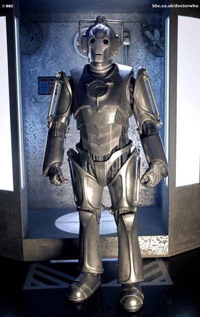 One of the Cybermen from the 2006 Doctor Who series.